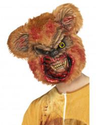 Maschera orsacchiotto zombie da adulto per Halloween