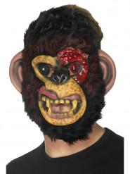 Maschera Scimmia zombie adulto per Halloween