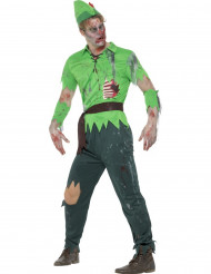 Costume da ragazzo dei boschi zombie per adulto halloween