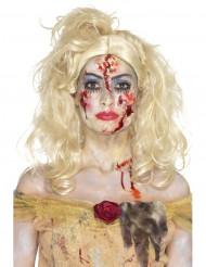 Trucco da principessa zombi per donna