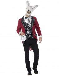 Costume da coniglio del tempo per uomo