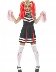 Costume da ragazza pompom satanica per donna halloween