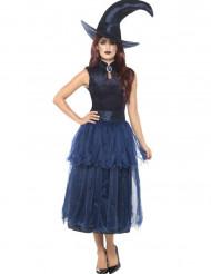 Costume da strega di mezzanotte per donna halloween