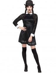 Costume scolara gotica per donna halloween