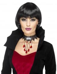Collana da vampiro gotico per donna Halloween