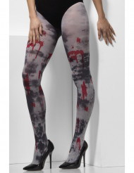 Calze insanguinate zombie adulto Halloween
