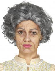 Kit trucco nonna in latexper adulto