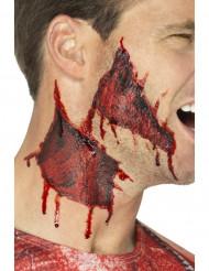 Tatuaggio temporaneo pelle strappata Halloween