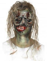 Protesi in latex occhio da zombie per adulto Halloween