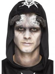 Protesi in latex corna da diavolo per adulto Halloween