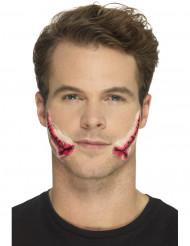 Protesi in lattice bocca squarciata per adulto
