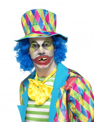 Falsi denti clown psicopatico