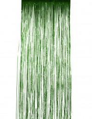 Tenda metallizzata verde