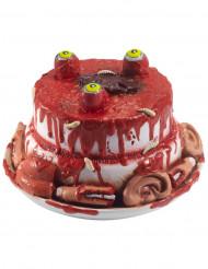 Decorazione per halloween torta con parti umane