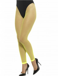 Calze a rete senza piedi maglia larga per donna