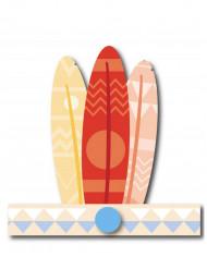 6 Copricapo indiano color pastello