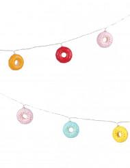 Ghirlanda con donuts luminosa
