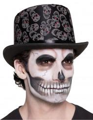 Cappello con teschi dia de los muertos adulto!