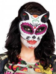 Maschera dia de los muertos per donna