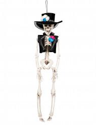 Decorazione da sopendere teschio Festa Halloween Dia de los muertos