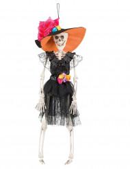 Scjeletro sposa messicana Festa Dia de los muertos Halloween da sospendere