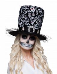Cappello con scheletri di Halloween