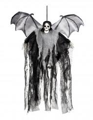 Decorazione morte alata da appendere 60 cm halloween