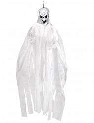 Decorazione sospesa scheletro bianco 150 cm halloween