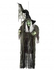Decorazione da appendere strega 190 cm halloween