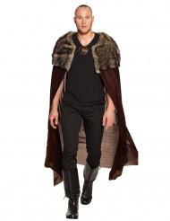 Mantello signore dei vichinghi Deluxe Adulto 150 cm