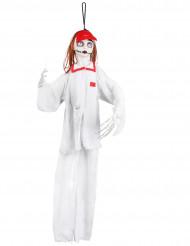 Decorazione infermiera inquietante 90 cm halloween