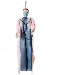 Decorazione luminosa chirurgo insanguinato 190 cm halloween