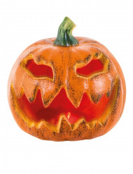 Zucca luminosa decorativa 16 cm halloween