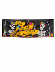 Banner Colorato Dia de los muertos 74 x 220 cm