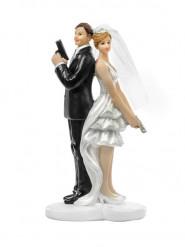 Statuina coppia matrimonio agenti segreti