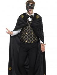 Costume barocco nero oro per uomo