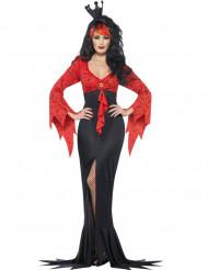 Costume regina pipistrello cattiva per donna Halloween