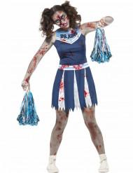 Costume pompom girl zombie per adolescente