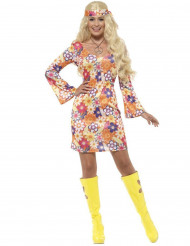 Costume floreale Hippy per donna