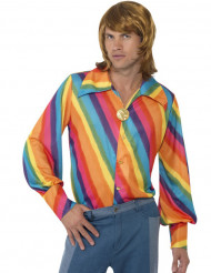 Camicia Arcobaleno uomo
