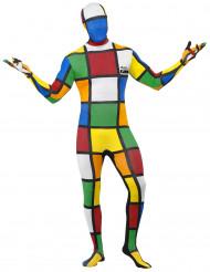 Costume seconda pelle cubo di rubik™ per uomo