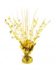 Peso per palloncino con elio stelle oro 250 gr