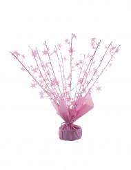 Peso per palloncino con elio stelle rosa 250 gr