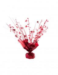 Peso per palloncino con elio stelle rosso 250 gr
