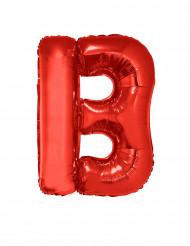 Palloncino alluminio gigante lettera B rosso 102 cm