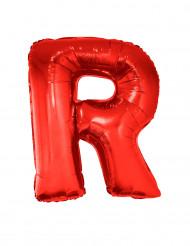 Palloncino alluminio gigante lettera R rosso 102 cm