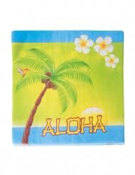 20 Tovaglioli in carta Aloha