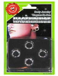 Set 4 piercing finti