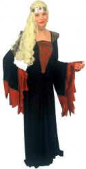 Costume lungo da dama medievale per donna