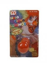 Naso da clown luminoso